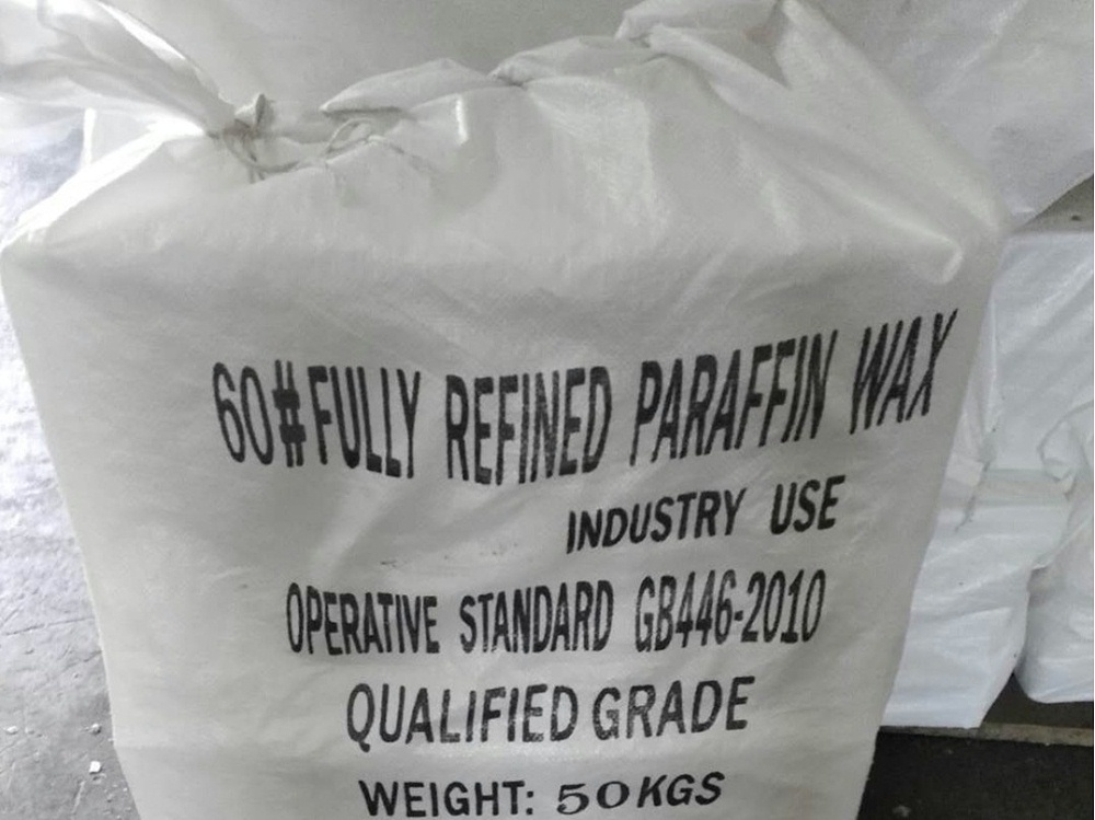 Fully refined paraffin wax in netutral packing