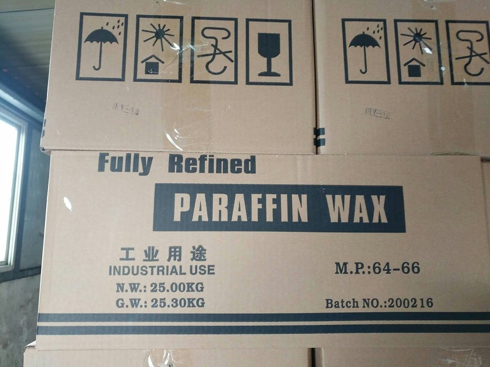 Factory directly sales  high quality paraffin wax package carton with pallet